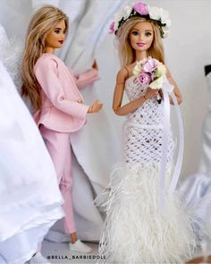 By: Bella barbiedoll Flower Girl Dresses, Prom Dresses, Wedding Dresses, Barbie Fashionista Dolls, Barbie Wedding, Bride Dolls, Beautiful Barbie Dolls, Barbie World, Barbie Dress