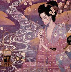 Les Tableaux de Karl Bang - Entre Asie et Europe - Ame Vietnamienne - Em là cô…