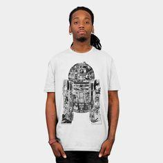 Star Wars Shirt - Epic R2 D2 T Shirt By StarWars  http://ragebear.com/to/epic-star-wars-t-shirt-r2-d2