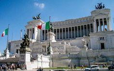 Das Monumento Vittorio Emanuele in Rom #Italien