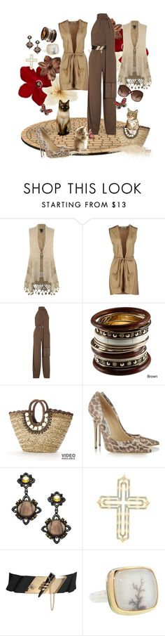 """Back to Earth"" by vegasprincess-1 ❤ liked on Polyvore featuring Izabel London, Aniye By, Michael Kors, Sun N' Sand, Jimmy Choo, Socheec, Jamie Joseph, Tom Ford and earthtones"