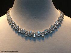 harry winston diamond wreath necklace - Google Search