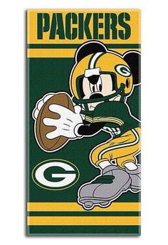 Packers Mickey banner