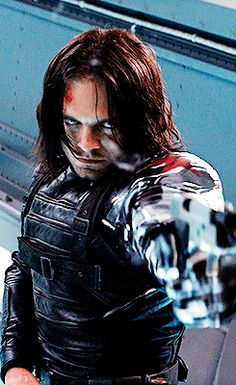 Sebastian+stan+shirtless+Bucky+barnes | Sebastian as Bucky Barnes - sebastian-stan Photo