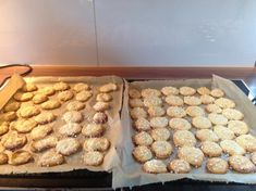 Grandma's sour cream cookies - dough without sugar, Sour Cream Cookies, Biscuit Cookies, No Bake Cookies, Cake Cookies, Cookie Dough, Sugar Cookies, Little Cakes, Eat Smart, Cakes And More