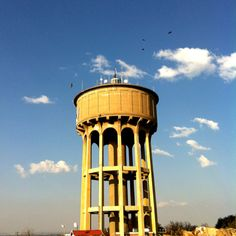 Northcliff water tower Thanks For The Memories, Water Tower, South Africa, Places To Visit, African, City, Building, Modern, Travel