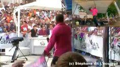 #Tournage Village Départ à #Mâcon le Mardi 10 juillet 2012