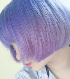 Super original colors that will make you look super cute Pelo Color Morado, Pretty Hairstyles, Wig Hairstyles, Hair Inspo, Hair Inspiration, Good Dye Young, Pelo Multicolor, Hair Color Cream, Dye My Hair