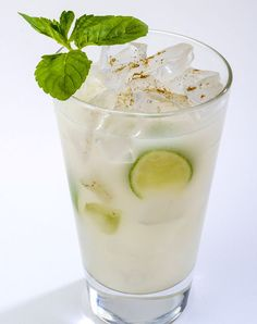 Smoke'N Tropics - Wild Shot, ginger liqueur, coconut creme, coconut water, fresh lime.  Drink like you're on vacation!
