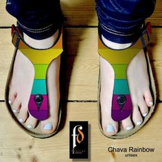New design from fabianz factory  Chava Rainbow Size 36 -40 and 39 - 43 Sintetic leather printing  For order:  bbm 5C7C9376 WA : +6282111649988