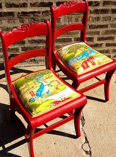 Ways to up-cycle tea towels, Make into cushions for chair. I want to do this with a tea towel I just bought