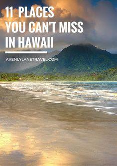 11 Places You Can't Miss In Hawaii (Oahu). A quick preview of the top spots you need to see on your next trip to Hawaii! - Avenly Lane Travel #HawaiiHoliday