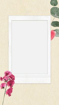 BLOG ALINE RIBEIRO: 10 Templates para Stories do Instagram Flower Backgrounds, Wallpaper Backgrounds, Iphone Wallpaper, Polaroid Frame, Polaroids, Polaroid Template, Overlays Tumblr, Picture Templates, Instagram Frame Template