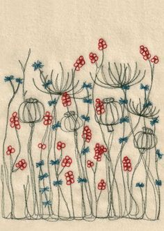...this lovely open work stitching works so well with two colors. www.snapdragononline.co.uk