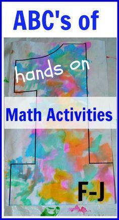 early math activities F - J Preschool Math, Math Classroom, Kindergarten Math, Teaching Math, Teaching Strategies, Teaching Tips, Classroom Ideas, Fun Math Games, Learning Activities