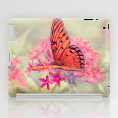 Quiet Butterfly iPad Case by Images of His Love by Nicole Rodriguez - $60.00