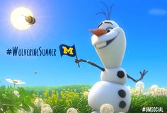 How do you 'summer' #Wolverines? Share your adventures using #WolverineSummer. Some 'memories' are worth melting for