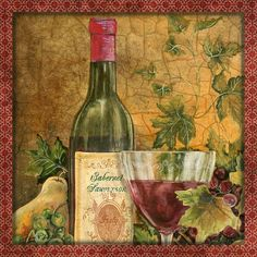 I uploaded new artwork to fineartamerica.com! - 'Tuscan Wine-b' - http://fineartamerica.com/featured/tuscan-wine-b-jean-plout.html via @fineartamerica