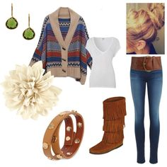 """Fall Outfit"" by beebabes13 on Polyvore"