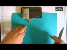 Using the Gift Bag Punch Board to Make Boxes… |