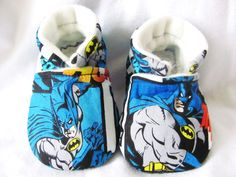 Batman baby boy shoes Batman baby booties by ElleCoutureBaby, $18.00 - You know... if you love your baby...