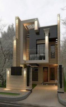 54 Trendy Ideas House Design Exterior Modern Dream Homes House Front Design, Modern House Design, Modern House Exteriors, Architecture Design, Contemporary Architecture, Contemporary Landscape, Contemporary Decor, Contemporary Stairs, Contemporary Building