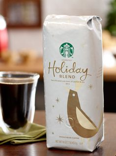 Holiday Blend | Starbucks Coffee Company Sweet, spicy, herbal = love!