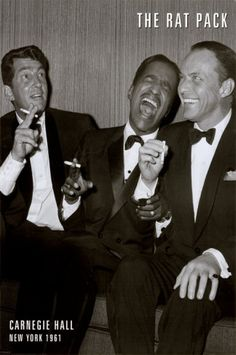 Iconic gentlemen. The rat pack. mens style/fashion