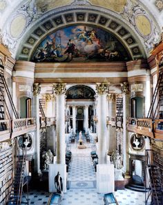 Another view of Hofbibliothek, Hofburg Palace, Vienna (Austrian National Library)