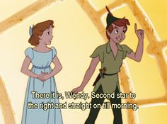 I love Peter Pan to no end.