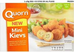 Slimming world quorn syns - mini kievs Slimming World Free Foods, Slimming World Recipes, Slimming Word, Quorn, Vegan Recipes, Vegan Food, Food Hacks, Healthy Lifestyle, Food And Drink