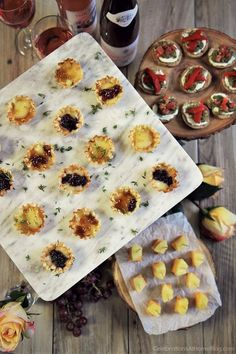 Here are 3 quick & easy cheese appetizers that will become staples in your home entertaining repertoire. Serve them for cocktail parties or happy hour.
