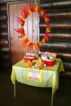 Circus Birthday - Ring of Fire Game - The Effective Pictures We Offer You About diy carnival dress A quality picture can tell you many things. You can find the most Diy Carnival, Circus Carnival Party, Circus Theme Party, Carnival Birthday Parties, Circus Birthday, First Birthday Parties, Birthday Party Themes, First Birthdays, Carnival Dress