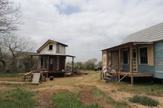 Salvage, Texas: a town built pretty much entirely of salvage, to go on- or off-grid, aiming towards self-sufficiency. Sounds like paradise.