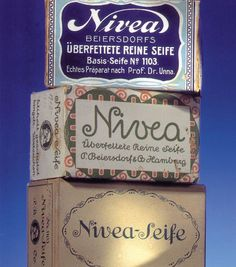 German package design - Nivea beauty products