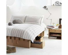 60 Cardboard Home Furnishings #Cardboard #Home #Furniture