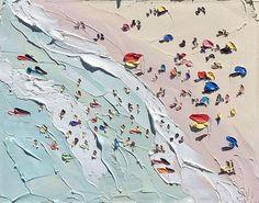 The Pineal Gland Soul Surfer: Diego Wha (yaaaayyy: The Beach, Sally West, oil on canvas,...)