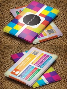 Colorful business card #businesscards #businesscardsdesign #corporatebusinesscards