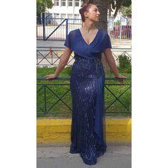 Φόρεμα κεντημένο