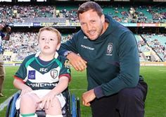 Nine year old Sam Acres, from Aylesbury and who has SPINA BIFIDA, got to meet his rugby heroes when he was chosen to be a mascot for London Irish at Twickenham over the weekend! Sam was also presented with his own London Irish rugby kit.