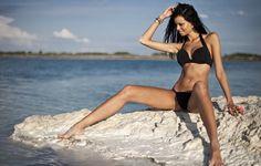 Justyna Gradek On The Beach