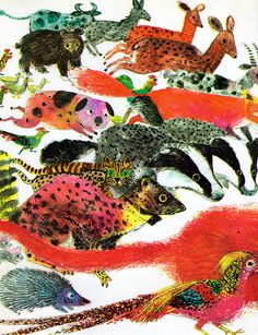 The Owl and the Woodpecker - written & illustrated by Brian Wildsmith (1971).