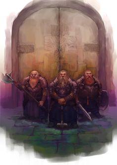 Dwarves by Windmaker.deviantart.com on @deviantART