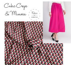 Fabric Godmother: Patterned Viscose Crepe - Just Arrived From Italy!