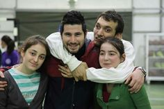 After Activities With Obstacle Children İ was so happy