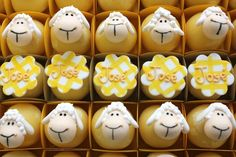 lamb christening favors