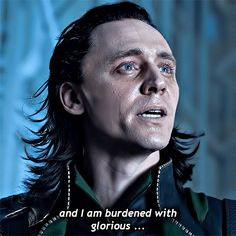 : The Avengers dir. Loki Gif, Avengers 2012, Movie Characters, Fictional Characters, Joss Whedon, Tom Hiddleston, Toms, Daddy, Marvel