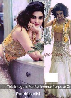 Prachi Desai Off White Designer Lehenga Choli