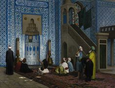 Rustem Pasha Mosque Istanbul By Jean Léone Gérôme by Enzie Shahmiri - Artist, via Flickr