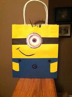 Despicable Me Party Favor Bags by DoodlesSweetTreats on Etsy, $2.50